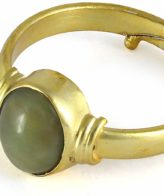 buy online Cat's Eye Lehsuniya Stone Ring price